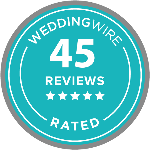 wedding wire five star rating